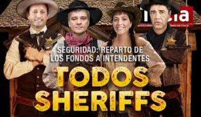 Intendentes asumen un compromiso más y son los nuevos sheriffs