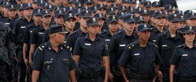 Anunciaron aumento salarial para la policía bonaerense