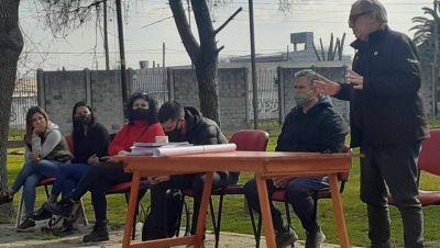 Larroque y Pascolini avanzan con la urbanización del ex club Planeadores