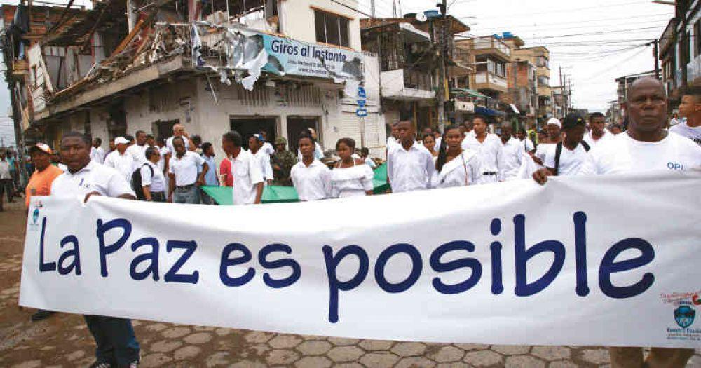 En tiempos de pandemia también se construye la paz