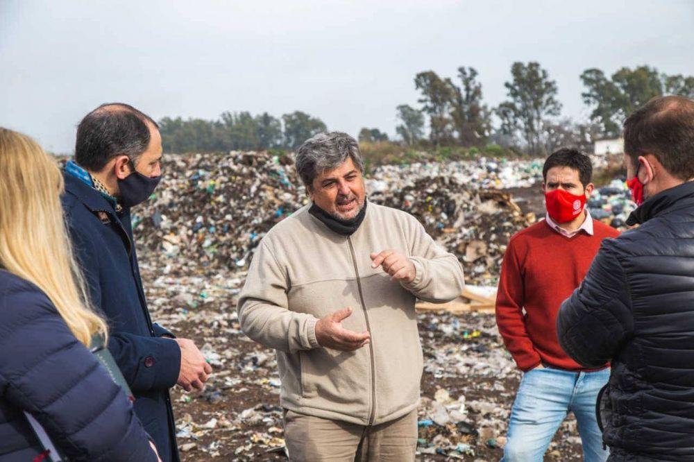 El Municipio avanza en el ordenamiento del basural a cielo abierto