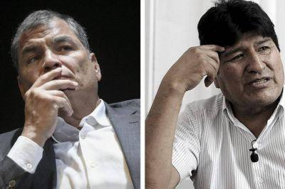 El Partido Justicialista repudió los fallos que prohíben a Evo Morales y Rafael Correa participar en elecciones