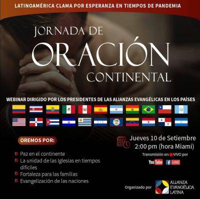 Los evangélicos latinos convocan a una jornada de oración continental