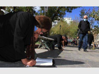 Unos 80 pastores evangélicos oraron por todo San Juan, sin distinción de religión