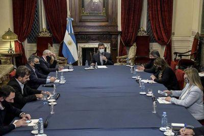 Tras el acuerdo con la oposición, Massa se reúne con Guzmán por el presupuesto