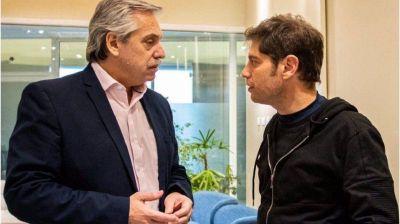 Alberto Fernández y Axel Kicillof se reúnen en Olivos por la Policía Bonaerense