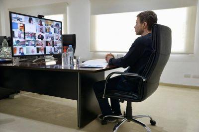 """Costa y Ruiz Malec dieron inicio a las """"Mesas Sectoriales de Transformación Laboral y Productiva"""