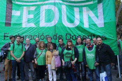 FEDUN acordó una comisión para el incremento de categorías docentes