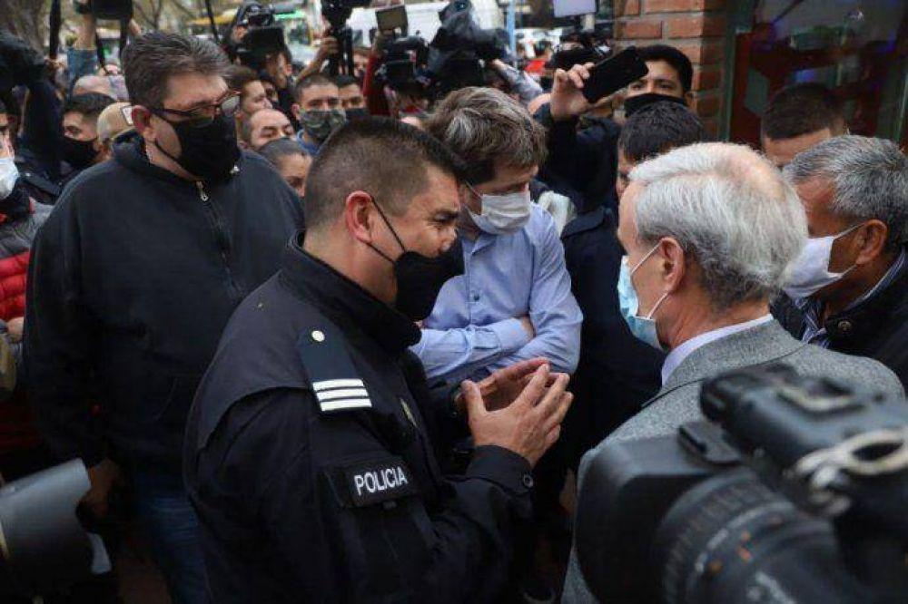 Gobierno descarta sindicalización policial y reedita debate
