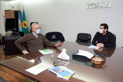 Se acordó entre IOMA y el Ministerio de Salud un pago por $100 millones
