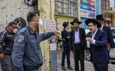 Los ultraortodoxos se rebelan contra el confinamiento impuesto por Netanyahu