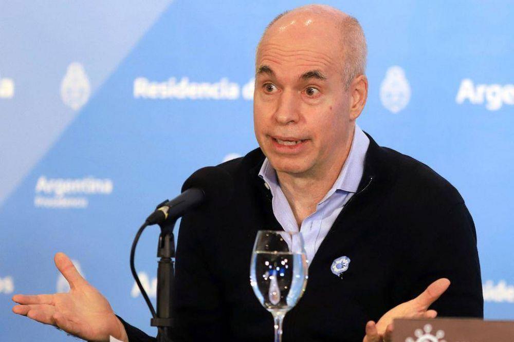Rodríguez Larreta fija su posición frente al cambio en la coparticipación