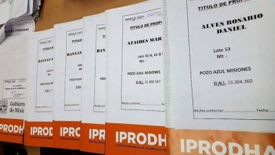 IPRODHA ultima detalles para la entrega de títulos de propiedad en San Vicente, San Pedro y Pozo Azul
