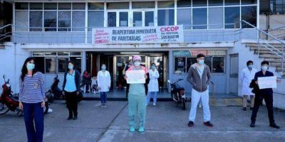 La Plata: trabajadores del Hospital San Martín reclaman mayor presupuesto para la salud pública