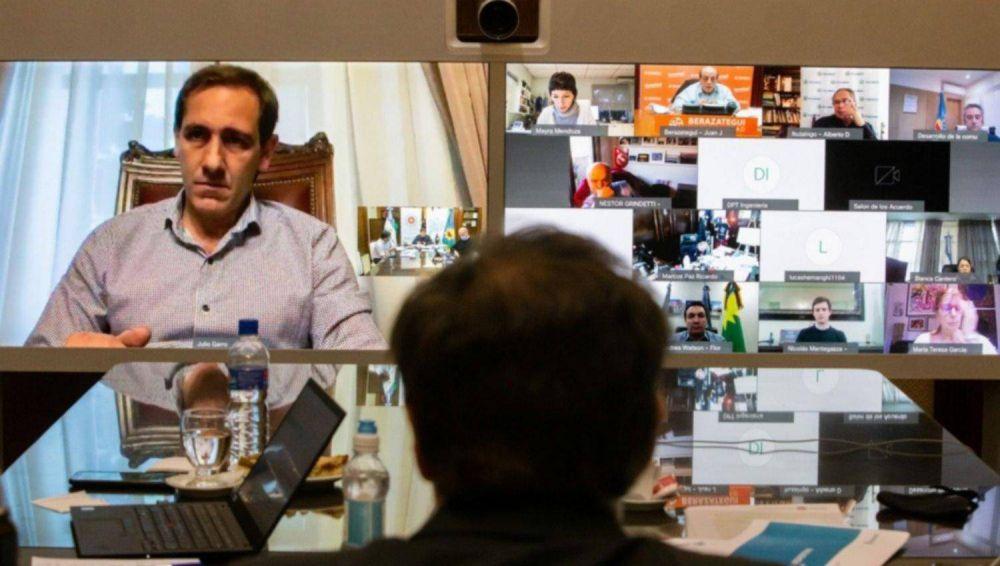 """Garro pide más diálogo a la Provincia y """"dejar atrás la grieta"""""""