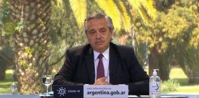 """Alberto Fernández, tras la quita de fondos a la Ciudad: """"Ningún diálogo se rompe"""""""