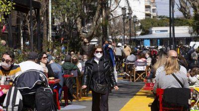 La Ciudad habilitó áreas peatonales transitorias en siete barrios