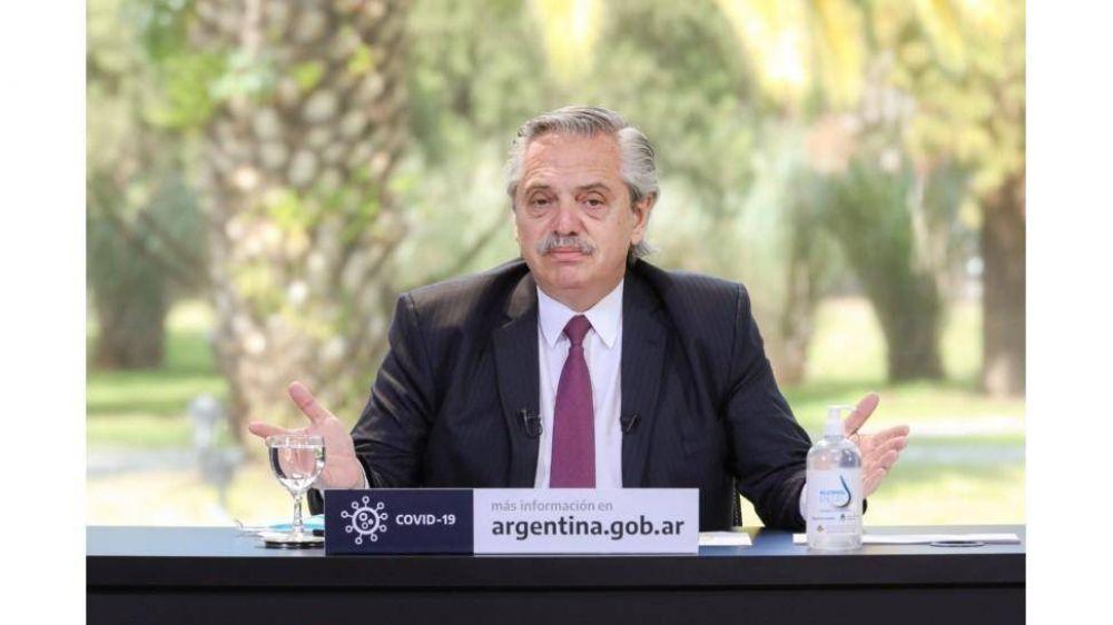 Una por una, las obras que anunció Alberto para cinco provincias