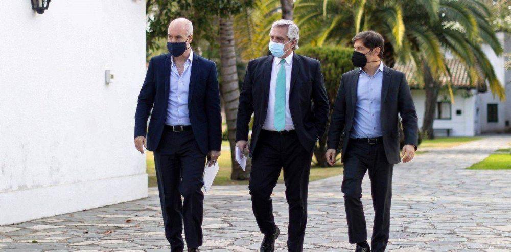 La noche de furia de Horacio Rodríguez Larreta, las ironías de Axel Kicillof y los chats presurosos de Alberto Fernández