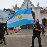 La protesta armada y sus causas: la bomba que desactivó Alberto Fernández
