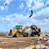Continúan las tareas de limpieza en el RRU