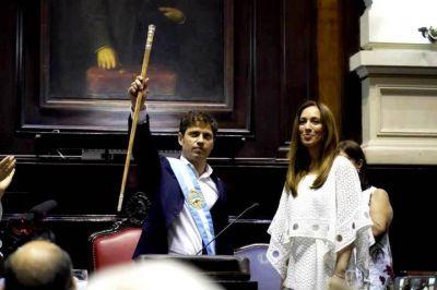 Kicillof reivindicó a Vidal para defender el punto de coparticipación otorgado a Provincia