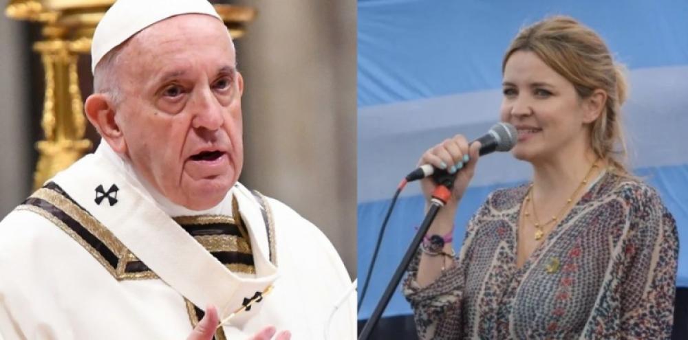 El Papa le pidió perdón a la madre de una viceintendenta por la ofensa de un sacerdote