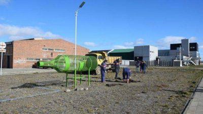 Habrá un punto de reciclaje de botellas plásticas en la ría de Río Gallegos