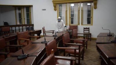 Chascomús: fue desinfectado el Concejo Deliberante tras confirmarse el caso positivo de una edil