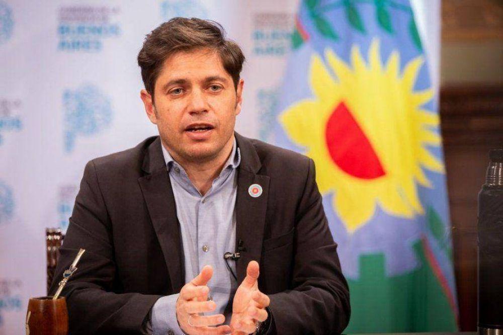 Kicillof anuncia obras del FIM pedidas por los intendentes