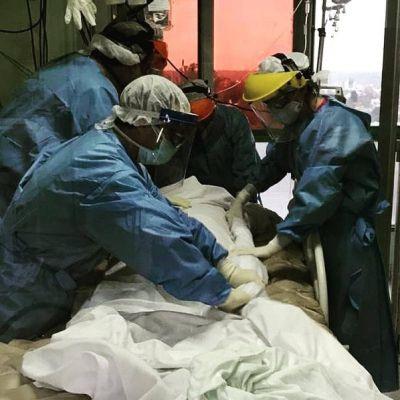 COVID las 24 horas: cómo se combate la pandemia desde la trinchera hospitalaria platense