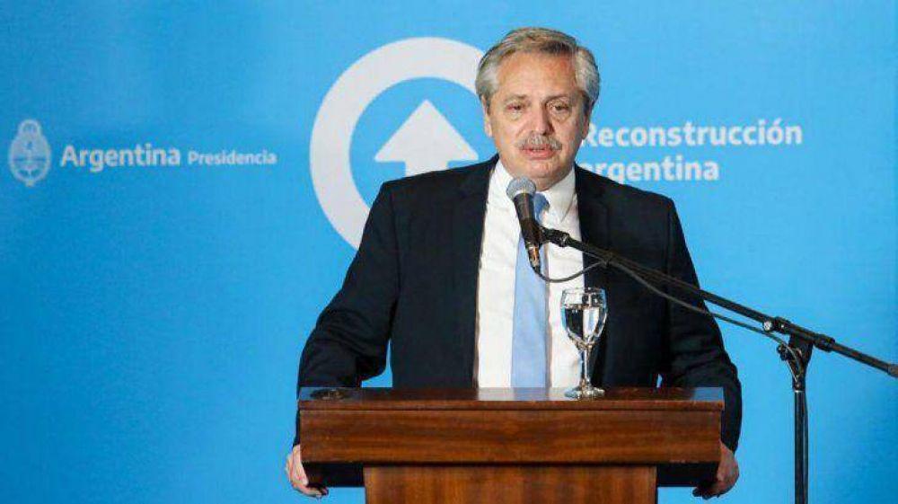 Alberto anunció la creación de un fondo de asistencia a las provincias en 2021