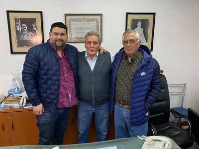 """CGT. Acuña recibió a Panaderos en un encuentro en el que se """"reforzó el apoyo a la conducción nacional"""""""