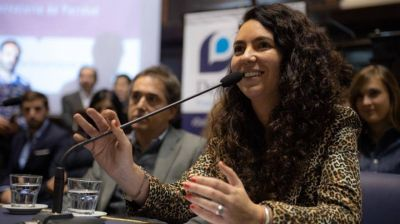 """Marisol Merquel: """"Buscamos crear más trabajo rural y cuidar el medio ambiente"""""""