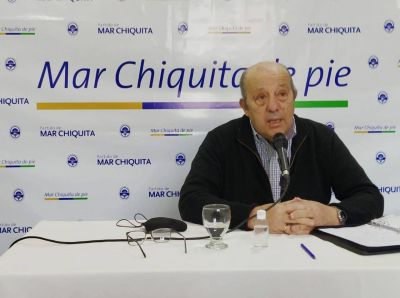 Paredi firmó convenio con Kicillof por cordón cuneta y desagües pluviales en Santa Clara del Mar
