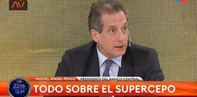 """Miguel Pesce, tras el súper cepo: """"No hay razón para retirar los depósitos en dólares de los bancos"""""""
