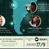 El PJ de Tres de Febrero organiza una charla sobre la integración latinoamericana