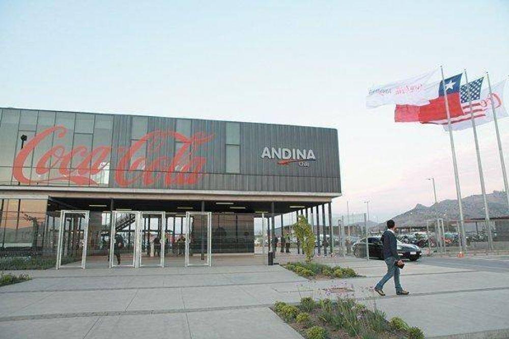 Rematan acciones de Embotelladora Andina en US$ 30 millones