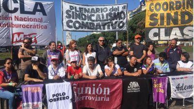 El sindicalismo clasista vuelve a la calle para rechazar el acuerdo entre la CGT y la UIA