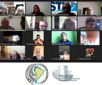 Trabajadores viales sudamericanos debatieron sobre la realidad del sector