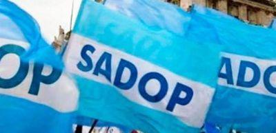 """El Sadop exigió """"una sustancial mejora"""" salarial y respaldó planes de lucha provinciales"""