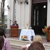 Yerba Buena se consagró al Corazón Inmaculado de Jesús y de María