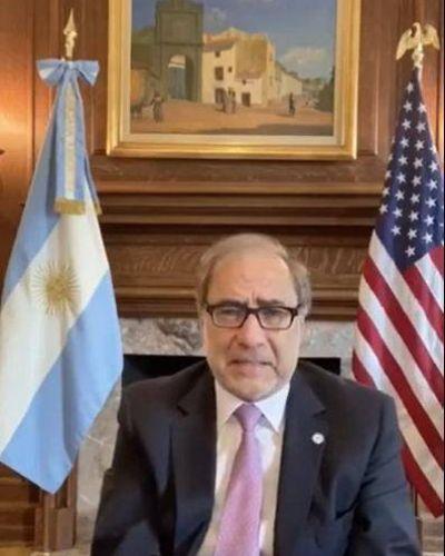 Emotivo mensaje del Embajador argentino en EE.UU a la comunidad judía por Rosh Hashaná