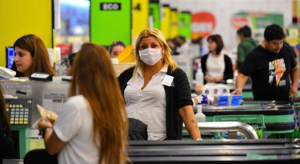 Comercio firmó una paritaria de 41,6% con revisión en enero: cómo queda el salario inicial