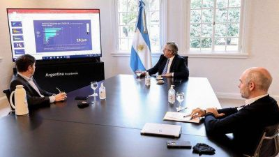 En medio de la tensión política, Alberto Fernández recibirá a Rodríguez Larreta y Kicillof para definir cómo sigue la cuarentena en el AMBA
