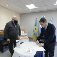 Esteban Echeverría: Fernando Gray firmó un acuerdo de colaboración con el titular del programa nacional Pro Tenencia
