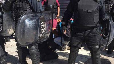 La Policía de Larreta golpeó y detuvo a siete vendedores ambulantes