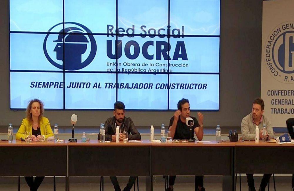 Maturano resaltó la solidaridad y el trabajo de la Juventud Sindical durante la pandemia