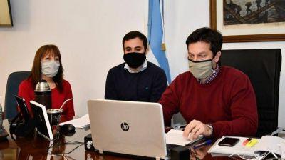 Necochea: Rojas firmó un convenio con ARBA para intercambiar información tributaria