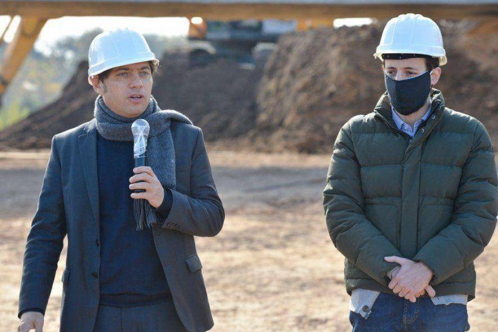 Kicillof busca finalizar 2 mil viviendas antes de fin de año